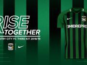 一起崛起!考文垂2018/19赛季第三球衣发布!