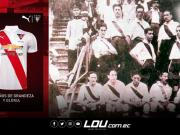 百年传统!基多大学体育俱乐部成立百年纪念球衣发布!