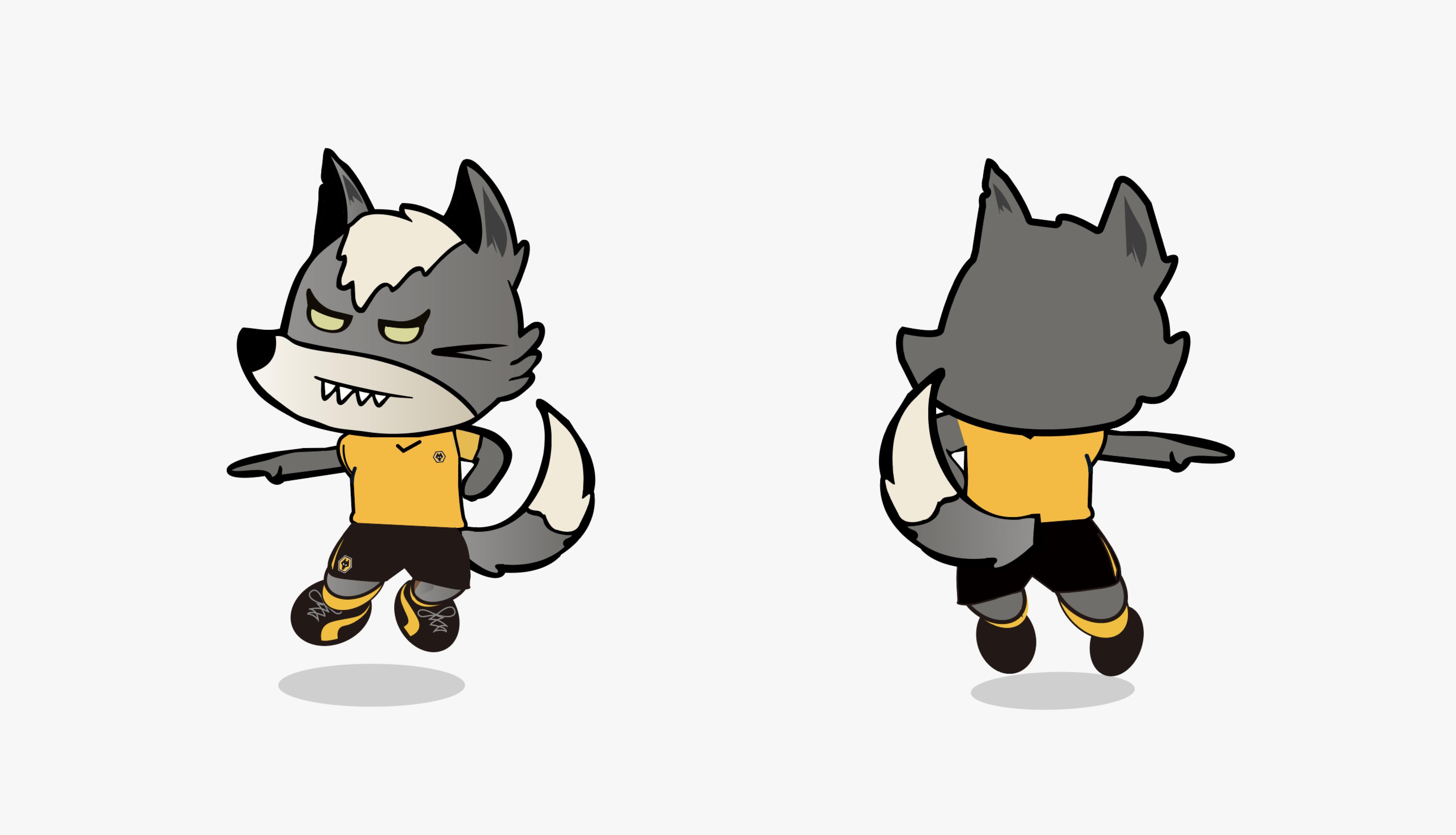 狼队名字 狼队中国吉祥物有奖征名第二轮:为你喜欢的候选名字投票吧!
