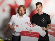斯图加特官方:弗莱堡后卫施腾泽尔租借加盟球队至2020年