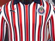 复古十足!瓜达拉哈拉2018世俱杯球衣发布!