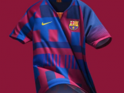 合作20年,耐克发布纪念版巴萨球衣