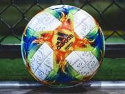 阿迪达斯发布世俱杯与女足世界杯官方用球Conext 19