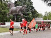 由米兰人民银行和彪马共同举办的2019米兰杯在圣...