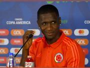 在今天早上进行的美洲杯小组赛的比赛中,哥伦比亚2...