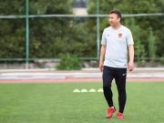 关于陈懋先生正式任命一线队主教练一职的通知