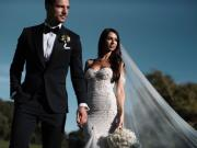 恭喜塞德里克-苏亚雷斯在葡萄牙完婚,新郎新娘这是...