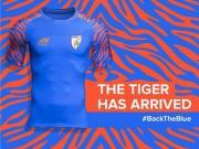 印度国家队2019年亚洲杯主客场球衣发布