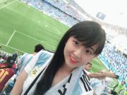 懂球号800粉丝~ 放一张世界杯去看阿根廷??的照片
