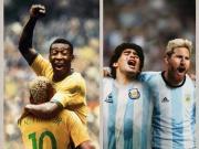 巴西阿根廷历史阵容踢一场,哪一队会赢?