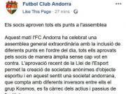真•皮主席!!官方:皮克的团队正式收购安道尔FC...