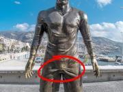 罗总裁的这座雕像。。。???