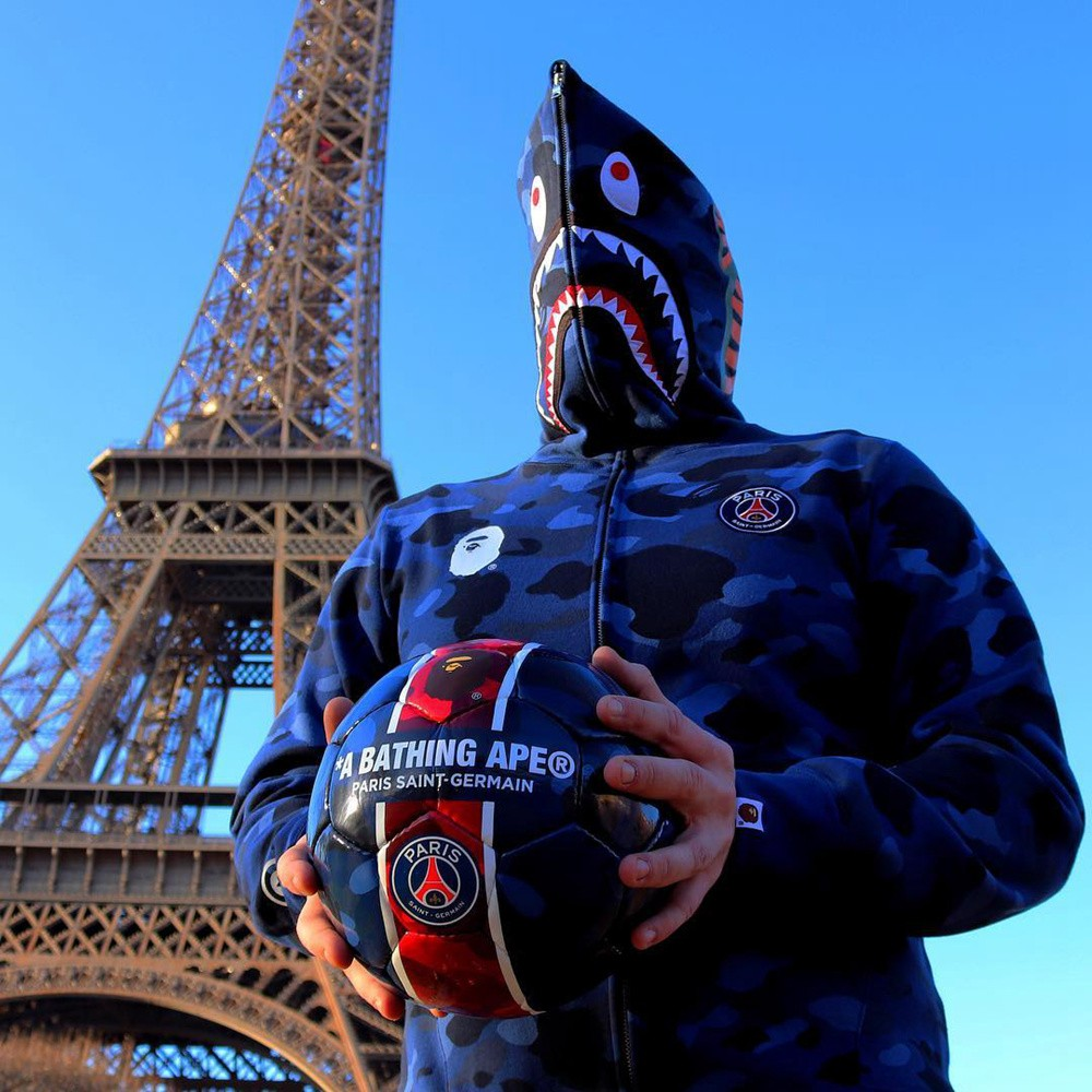 ChOxM1wtykeAXVUOAAMe4rt340E269 - PSG × BAPE聯名足球發佈 — 巴黎聖日耳曼