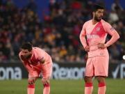 梅西和苏亚雷斯西甲进球合计28个,剩余的西甲球队...
