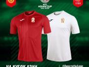首次亮相!吉尔吉斯斯坦国家队2019亚洲杯球衣发布!