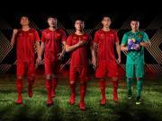 越南国家队2019亚洲杯主客场球衣发布