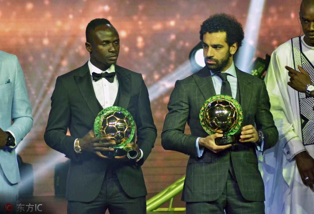 非洲杯淘汰赛在即,马内、萨拉赫将争夺金靴