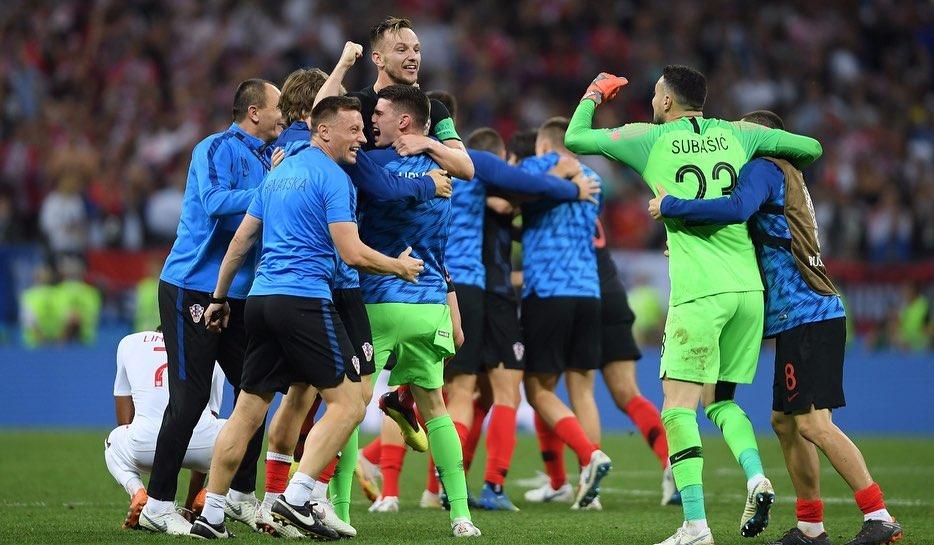 北京时间2018年7月12日,克罗地亚在世界杯半...