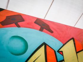 南京新街口的英超涂鸦墙,是这样诞生的!