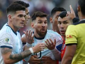 梅西质疑南美足协的根据究竟来自哪里?