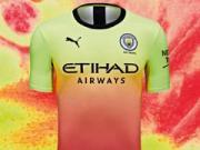 曼城又有新球衣发布了,充满活力、打破常规!