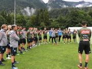 那不勒斯俱乐部在特伦蒂诺的夏训已经进入了第十日,...