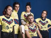 耐克发布墨西哥美洲2019/20赛季主场球衣