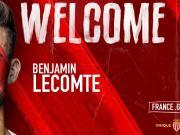 摩纳哥足球俱乐部官方宣布,法国国门本杰明·勒孔特...