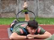 那不勒斯在特伦蒂诺的夏训来到了第13日,虽然早晨...