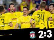 多特蒙德vs利物浦友谊赛图集