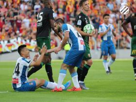 武磊新赛季首秀造点,助西班牙人3-1逆转击败朗斯!