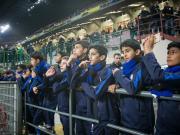 万余名小球迷助阵国米,梅阿查将迎最年轻第12人