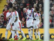水晶宫客场3-4负于利物浦,他们在比赛中有3脚射...