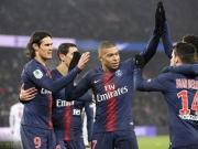 巴黎9-0狂扫甘冈报法联杯被淘汰之仇,卡瓦尼、姆巴佩均戴帽