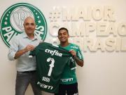 帕尔梅拉斯官方宣布,球队与巴甲MVP杜杜续约至2...