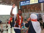 图集:卡埃比离开中国,华夏幸福球迷机场送行