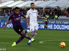 足球视频集锦:佛罗伦萨 3-3 桑普多利亚