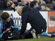 官方:阿里腿筋受伤,预计3月初