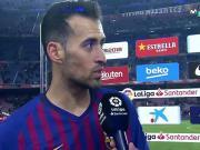 布斯克茨:梅西上场改变了比赛