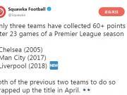据Squawka Football的统计,英超历...