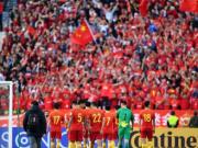 国足曾在亚洲杯6次交手伊朗,战绩为1胜2平3负