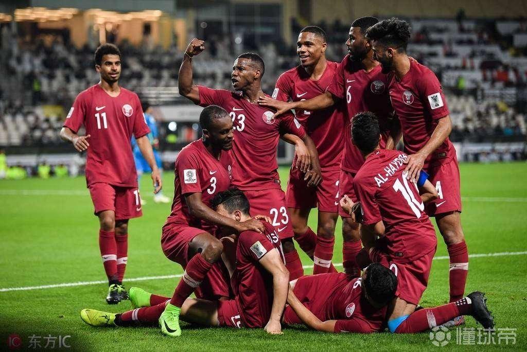 卡塔尔1-0战胜伊拉克,为卡塔尔打进制胜球的巴萨...