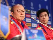 越南主帅:我们已经完成了16强的目标,明天尽力取胜