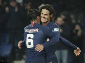足球视频集锦:巴黎圣日耳曼 2-0 斯特拉斯堡