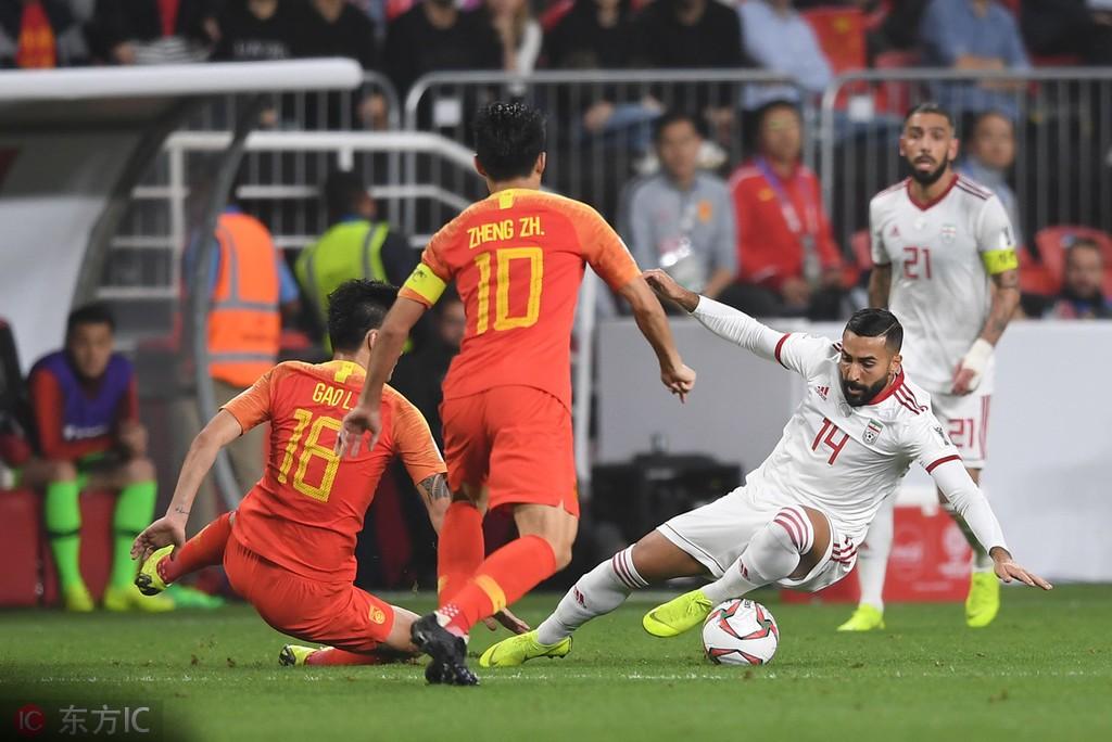 亚洲杯台湾:中伊战赛后纪录:国足全场5次射门为