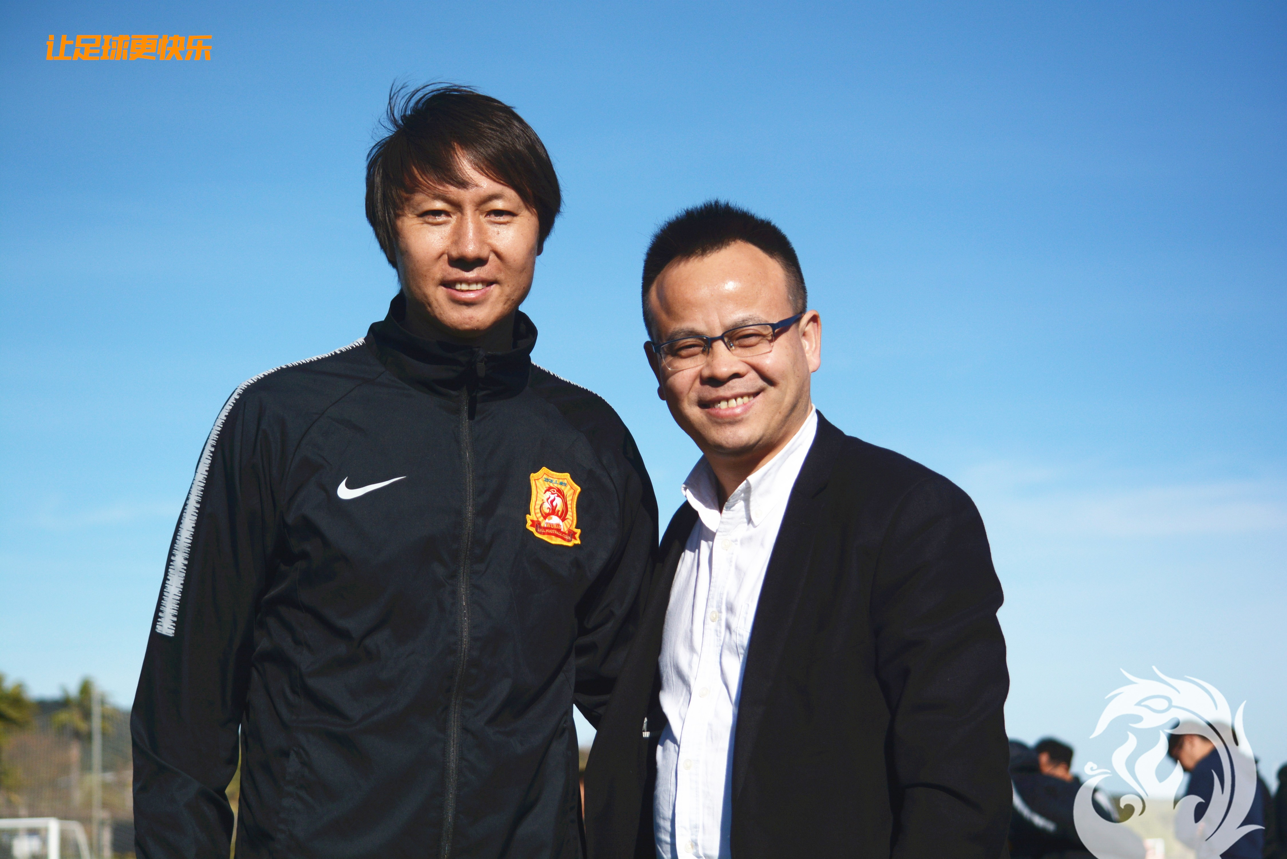 俱乐部董事长王小松赴西