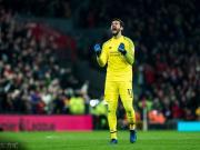 阿利松:利物浦现在有能力争冠,曼城是夺冠热