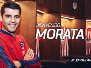 官方:莫拉塔租借加盟马德里竞技,签约至下赛季末