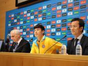 武磊:第一个目标是早日登场,要证明中国人能