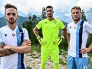 条纹优雅,拉齐奥2019/20赛季客场球衣发布
